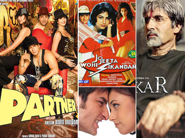 We list down 7 Bollywood films inspired from Hollywood