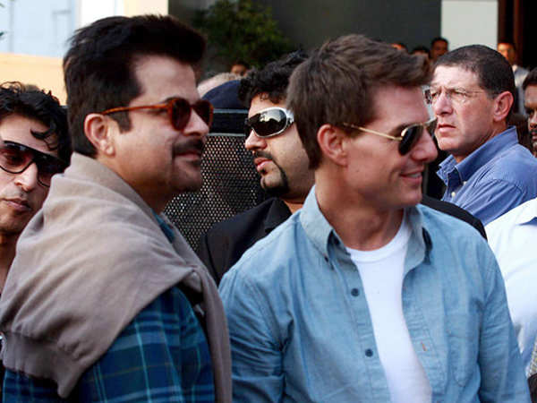 Anil Kapoor and Tom Cruise reunite in Abu Dhabi
