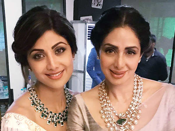 Shilpa Shetty remembers the legendary actress Sridevi