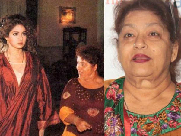 Saroj Khan talks about her muse, the late Sridevi