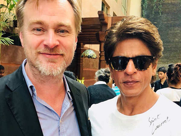 Shah Rukh Khan has a fanboy moment with Christopher Nolan