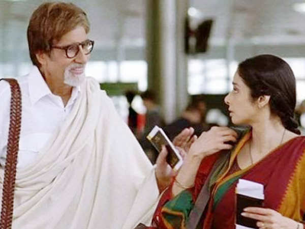 Amitabh Bachchan gives a perfect farewell to Sridevi