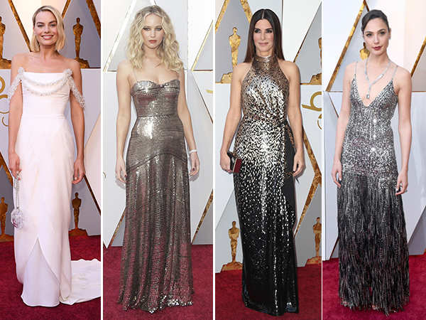 Best Dressed Divas at the Oscars 2018