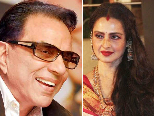 Filmfare Exclusive! Rekha and Dharmendra to recreate magic on screen