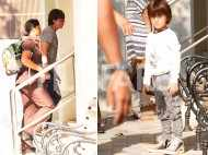 Photos: Li'l Abram heads out with parents Shah Rukh Khan and Gauri Khan