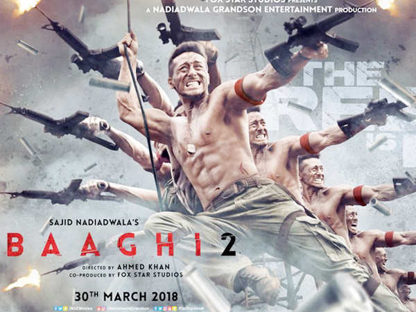 Check out the new poster of Tiger Shroff and Disha Patani starrer Baaghi 2