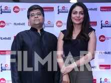Jitesh Pillaai and Neeru Bajwa at the Jio Filmfare Awards (Punjabi) 2018 press conference