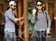 Mira Kapoor and Shahid Kapoor kick started the weekend in each other's company