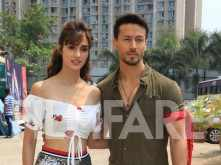 Disha Patani and Tiger Shroff complement each other well during the promotions of Baaghi 2
