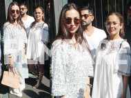Photos: Sisters Malaika Arora and Amrita Arora look lovely in white on their brunch date