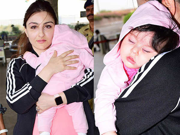 Soha Ali Khan says she gets a little worried with all the attention that her daughter receives