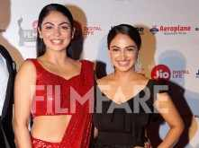 Neeru Bajwa and Rubina Bajwa sizzle at the Jio Filmfare Awards (Punjabi) 2018
