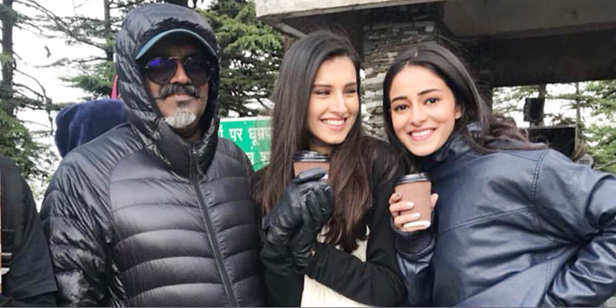 Ananya Pandey and Tara sutaria