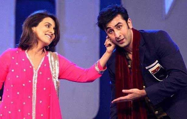 Ranbir Kapoor and Neetu Kapoor