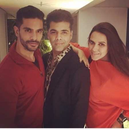 Have Angad Bedi and Neha Dhupia found love in each other?