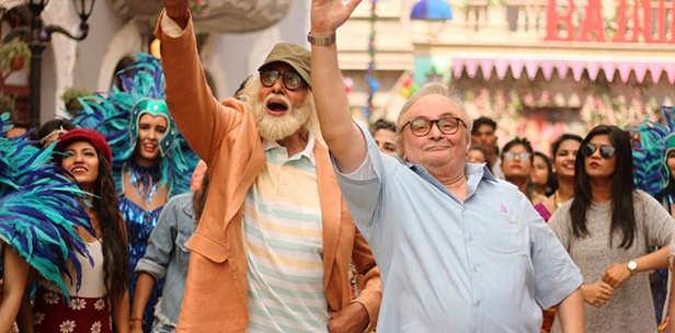 Amitabh Bachchan, Rishi Kapoor, Rajkummar Rao