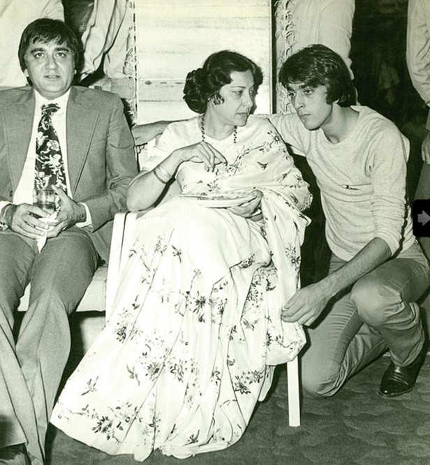 Sanjay Dutt, Nargis