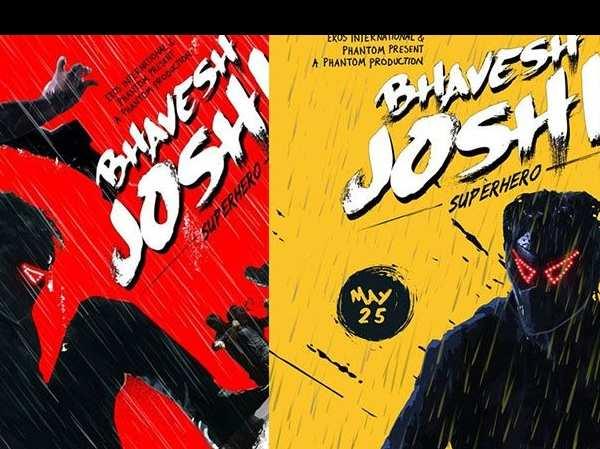 The mask in Bhavesh Joshi Superhero took two years to design