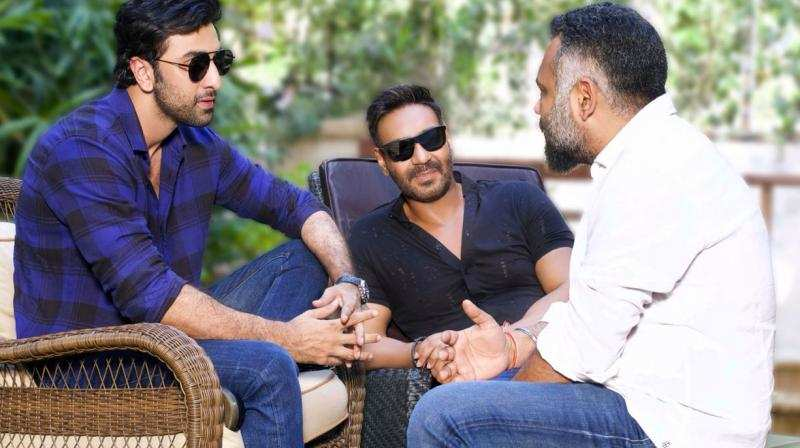 Will @ShraddhaKapoor be a part of #RanbirKapoor and @ajaydevgn's upcoming project with #LuvRanjan?   https://www.filmfare.com/news/bollywood/is-shraddha-kapoor-being-considered-for-ajay-devgn-and-ranbir-kapoors-next-28377.html