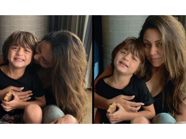 Gauri Khan shares an endearing picture on son AbRam's 5th birthday