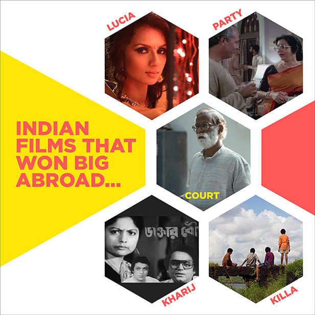Indian films that won International appreciation