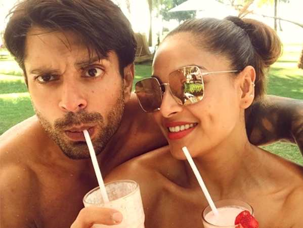 Karan Singh Grover and Bipasha Basu celebrate their mokeyversary in Goa