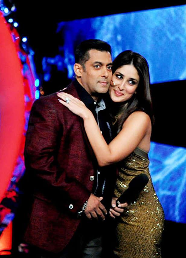 Karisma , Salman, Kareena