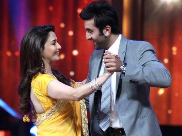 Madhuri Dixit says her chemistry with Ranbir Kapoor is perfect