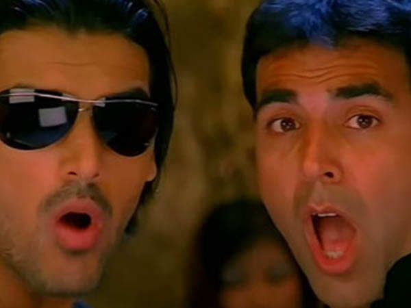 """Akshay Kumar and I have discussed Garam Masala 2.""  - John Abraham"