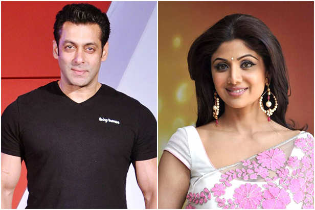 Salman Khan, Shilpa Shetty