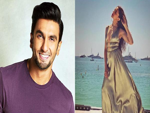 Deepika Padukone's look at Cannes 2018 has left Ranveer Singh bedazzled
