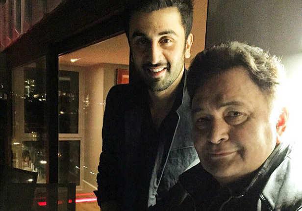 Ranbir Kapoor, Rishi Kapoor