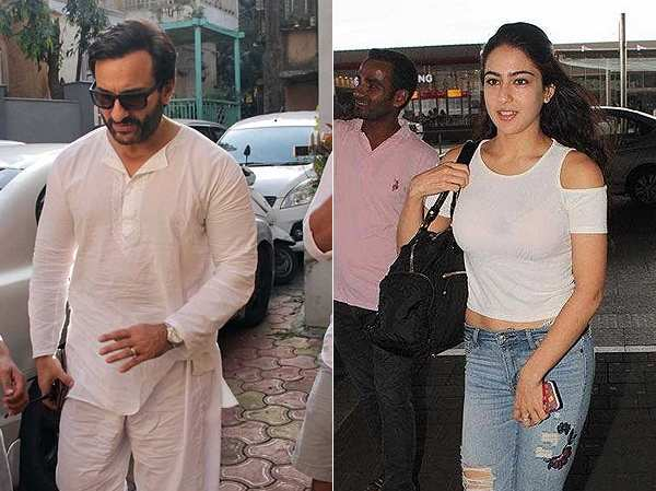 Saif Ali Khan talks about how Sara Ali Khan got a Karan Johar film