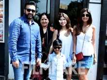 Shilpa Shetty Kundra's Sunday outing with family
