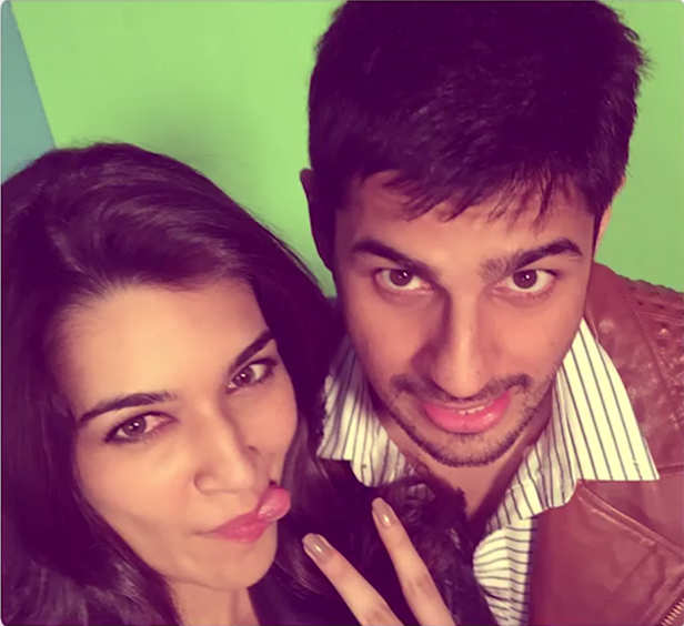 Sidharth Malhotra and Kriti Sanon