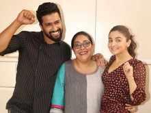 Alia, Vicky and Meghna Gulzar take Filmfare's book quiz