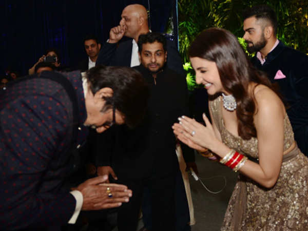 Anushka Sharma thanks Amitabh Bachchan for sending her warm birthday wishes