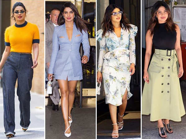 8 days, 9 looks and 1 diva - Priyanka Chopra
