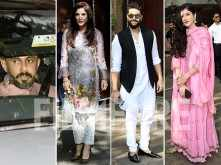 Groom-to-be Anand Ahuja along with Kapoor clan at Sonam Kapoor's Mehendi