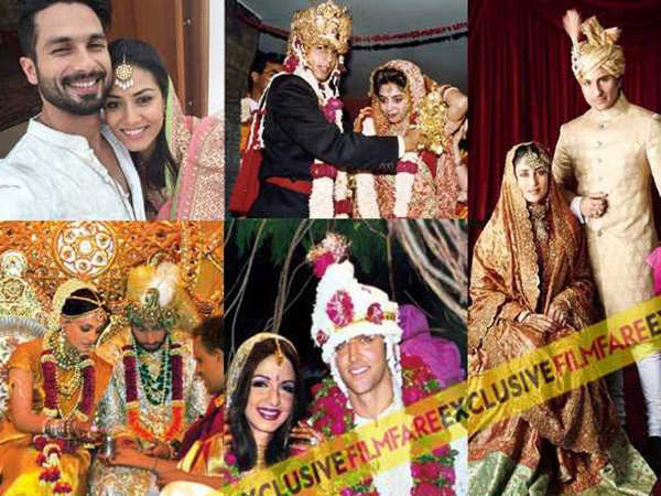 21 most famous Bollywood weddings