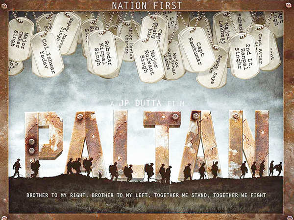 J.P Dutta's Paltan to release on 7th September 2018