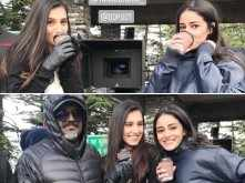 Here's how Tara and Ananya are staying warm on the sets of SOTY 2
