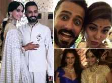 Must see! Every inside picture & video from Sonam – Anand's Mehendi