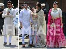 The Kapoor clan arrives for Sonam Kapoor and Anand Ahuja's big fat wedding