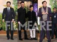 Anil, Sanjay Kapoor and Shatrughan Sinha attend Sonam – Anand's reception