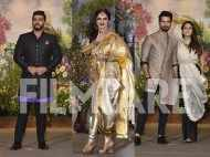 Arjun Kapoor, Rekha & Shahid – Mira Kapoor attend Sonam – Anand's reception