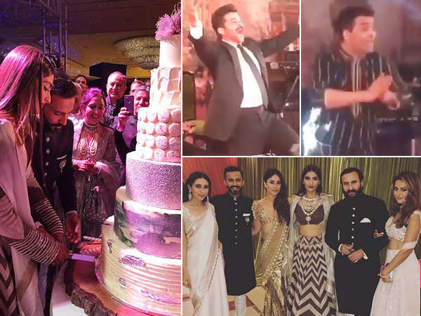 Don't miss! All the inside photos and videos from Sonam – Anand's reception