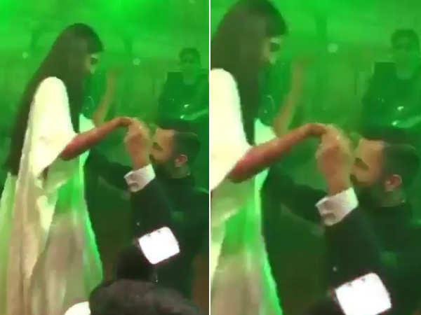 Anand & Sonam dance on Mujhse Shaadi Karogi, SRK and Salman Khan join in