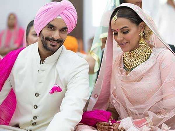 Official! Neha Dhupia and Angad Bedi have tied the knot