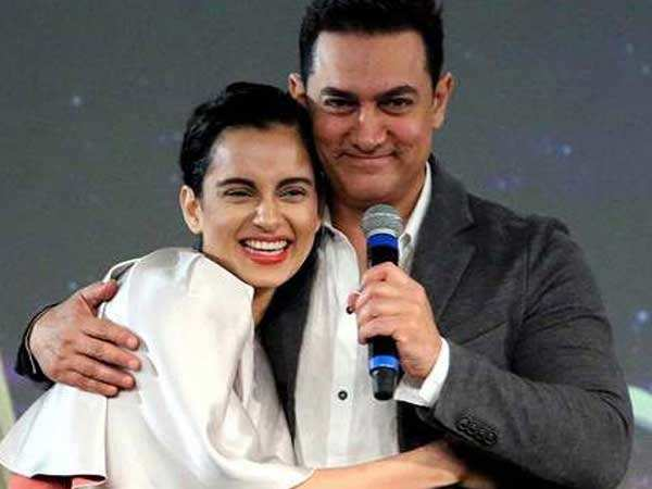 Aamir Khan and Kangana Ranaut to join hands for a film?